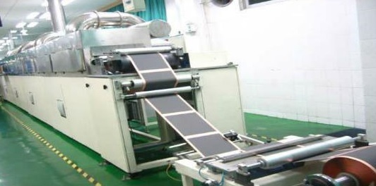 Coater used in lithium-ion battery production line