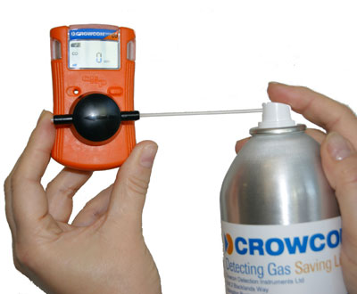 Crowcon bump test gas image