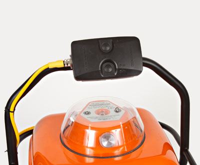 Detective wireless gas detection