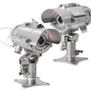 Gassdetektor med åpen bane