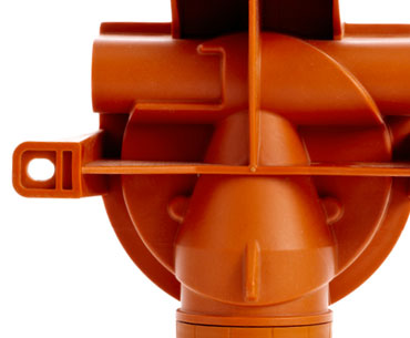 Xgard gas detector back