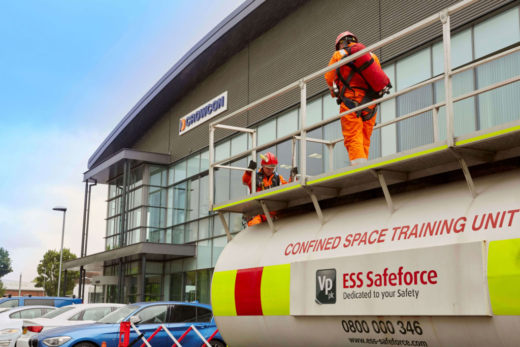 Crowcon Ess confined space training