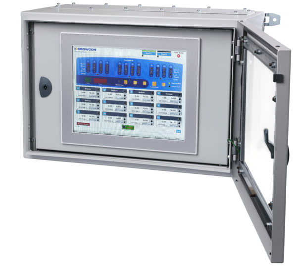 HMI unit gas detector