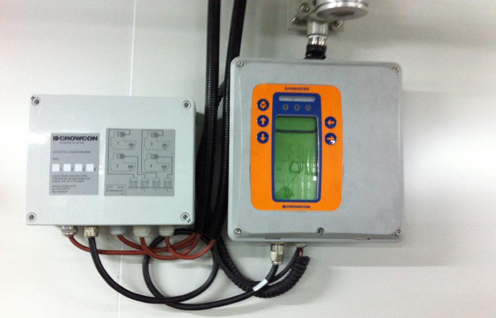 Gasmaster gas detection