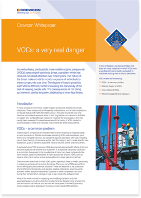 VOC's: a very real danger whitepaper