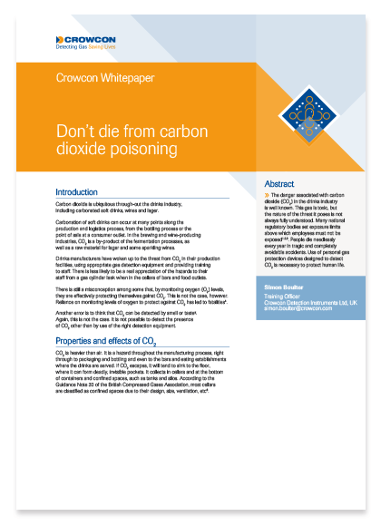 Carbon Dioxide poisoning Whitepaper